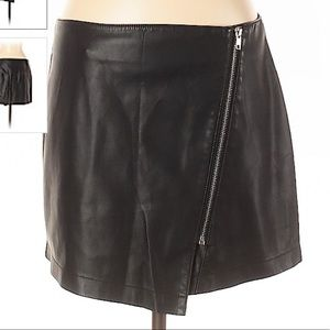 BB Dakota Vegan Leather Mini Skirt